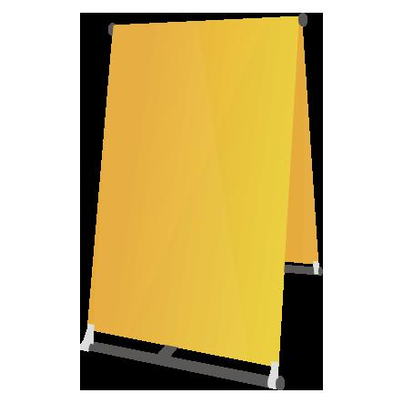 A型のぼり看板