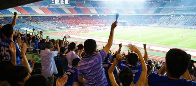 サッカー応援で目立つデザイン