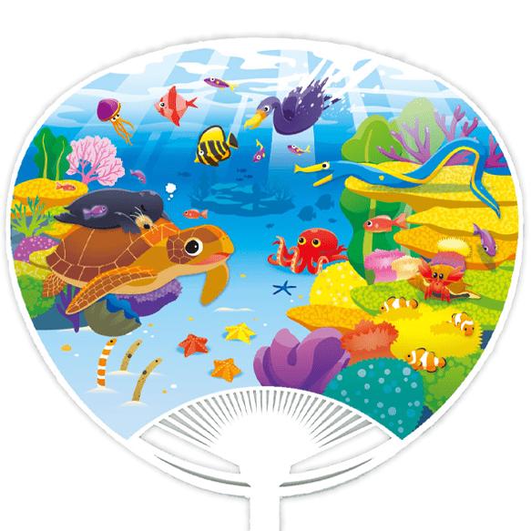 海の生き物A