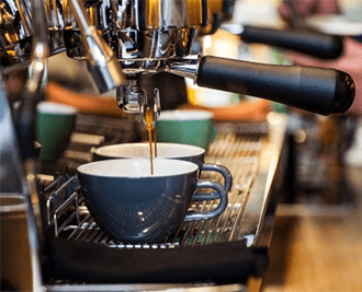 自家焙煎コーヒーにこだわっているスタイリッシュなカフェ