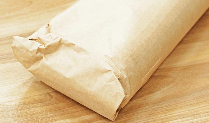 梱包紙管巻きステップ2