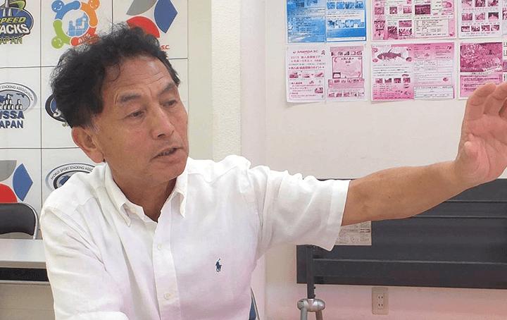 ABCプログラムについて熱く語る澤田代表