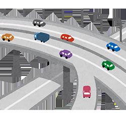 高速道路ではマグネットシート使用は非推奨