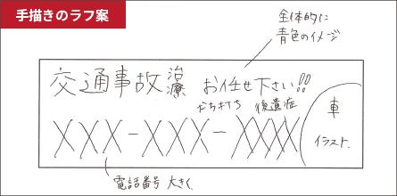 手描きのラフ案2
